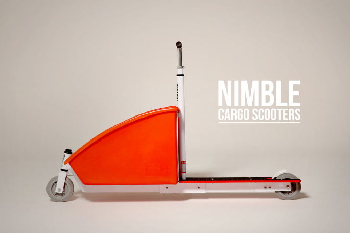 nimble cargo scooters uk. Black Bedroom Furniture Sets. Home Design Ideas